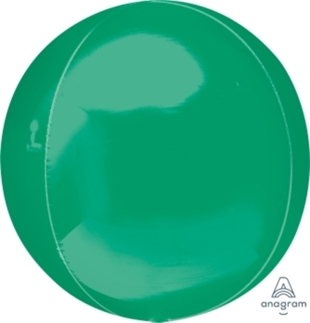 Green Orbz Ultrashape Foil Balloon ANA31942