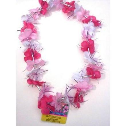Dazzle flower lei pink white m19223 important items dazzle flower lei pink white m19223 mightylinksfo