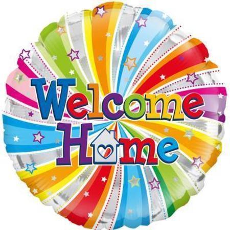 Oaktree Welcome Home Swirl Foil Balloon OAK229301