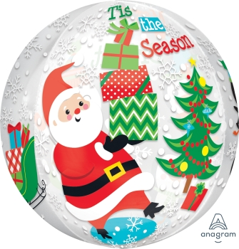 Christmas Scene Orbz Balloon ANA31398