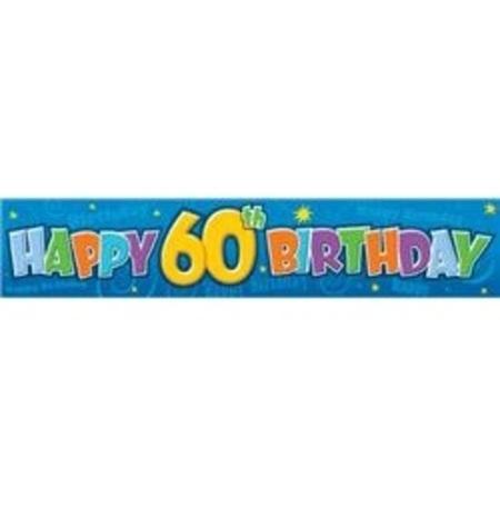60th Birthday Giant Banner M91577