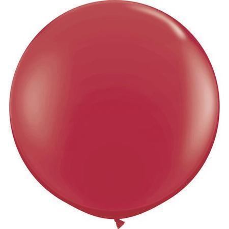 Maroon Fashion Tone 3′ Latex Balloons Q57134