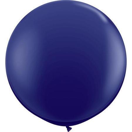 Navy Fashion Tone 3′ Latex Balloon Q57129