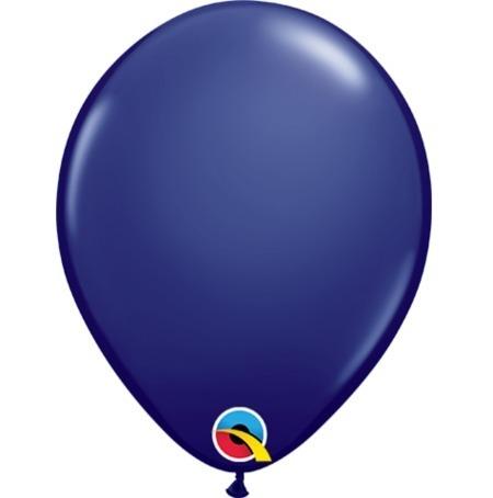 Navy Fashion Tone 5 inch (12 cm) Latex Balloons Q57125