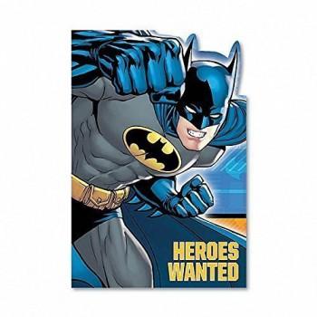 Batman Invitations Heroes Wanted AM491386de