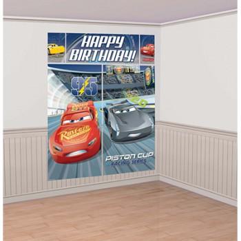 Cars 3 Scene Setter Wall Decoration AM671763
