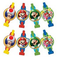 Super Mario Brothers Blowouts with Medallions AM331554