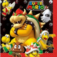 Super Mario Luncheon Napkins AM511554