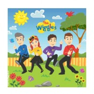 The Wiggles Luncheon Napkins AM8822316
