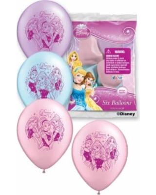 Disney Princess 12 inch (30 cm) Latex Balloons Q01689